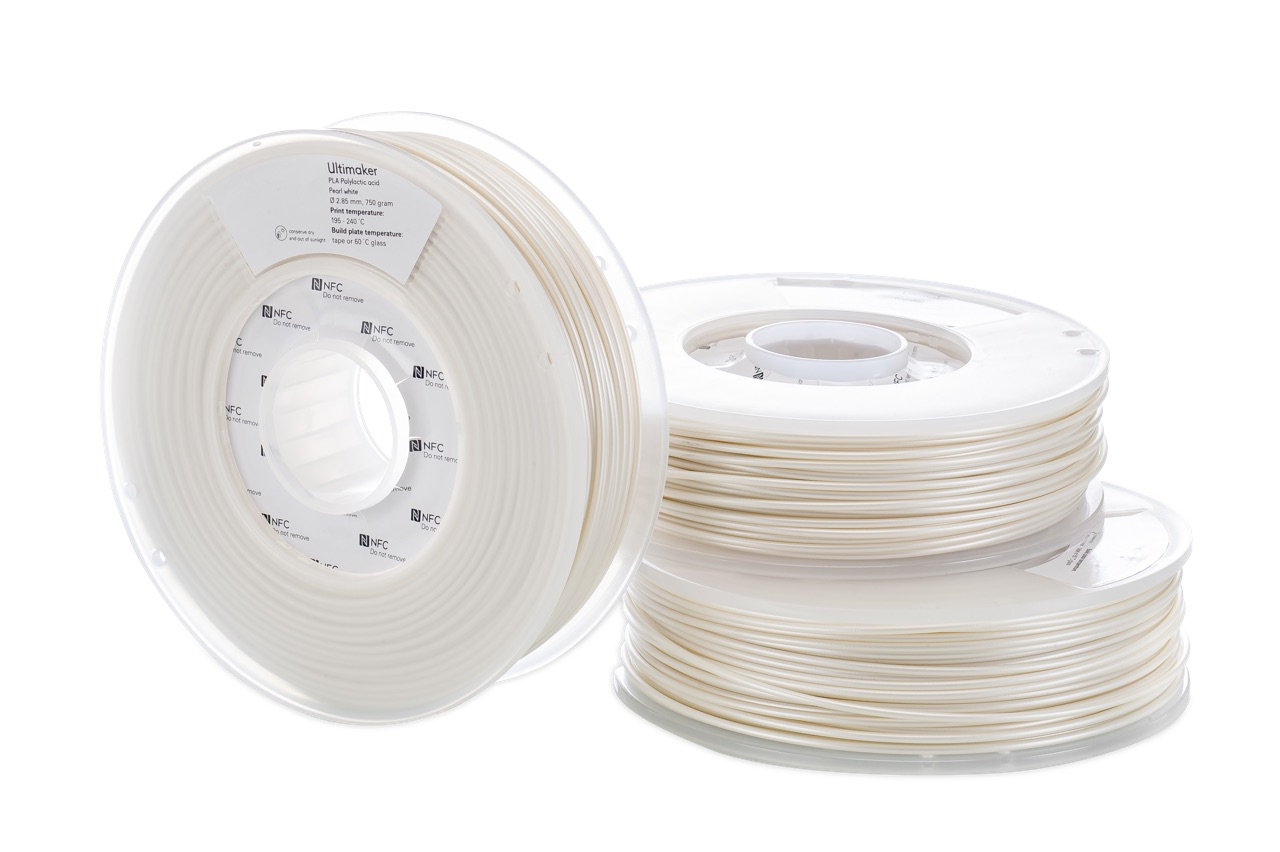 Ultimaker PLA Pearl White 750g Spool