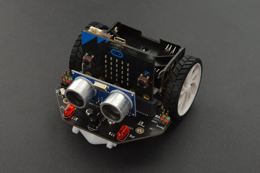 micro: Maqueen Lite-micro:bit Educational Programming Robot Platform (without mico:bit)