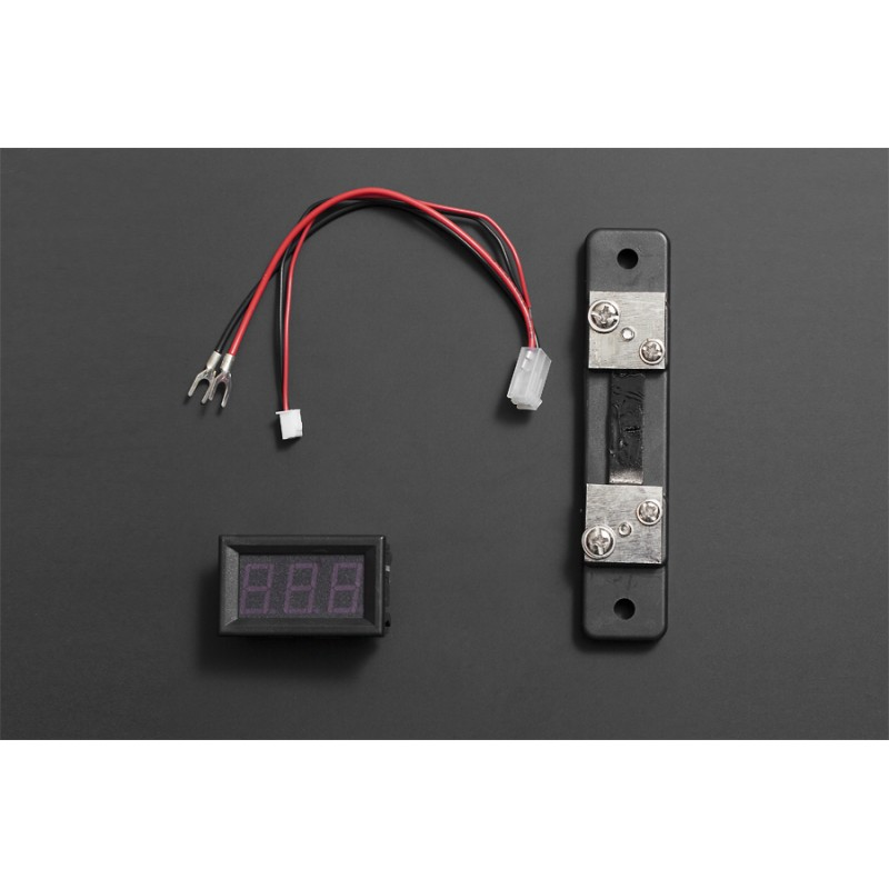 LED Current Meter 50A (Red)
