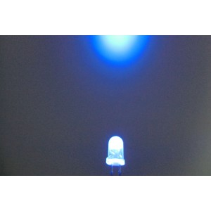 5mm Super Bright LED - Blue(10Pcs)
