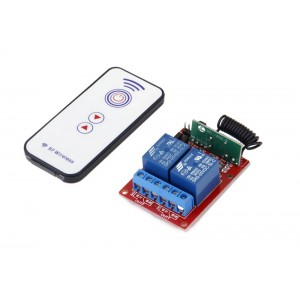 2 Channels RF Remote Control Module DC 5V