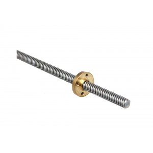 3D Printer Z Axis Lead Screw Rod With Nut