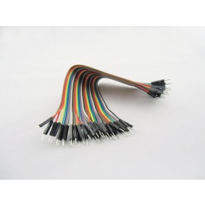 40 Pin Dual Male Splittable Jumper Wire - 200mm