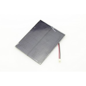1W Solar Panel with Wires
