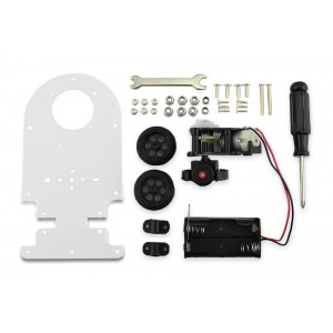 Automatic Obstacle Avoidance Car Kit for Education