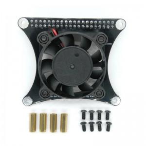 Raspberry Pi PWM Control Fan for Raspberry 2B/ 3B/ 3B+