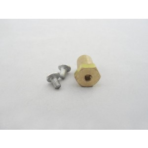 5mm Brass Motor Wheel Coupler With Screw