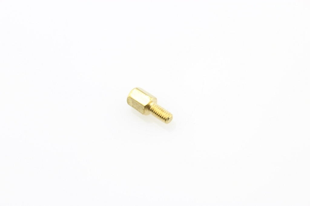 M3 6mm+6mm Hexagon Copper Cylinders (10Pcs Pack)