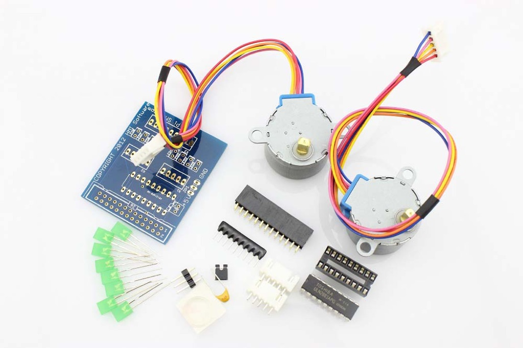 Step Your Pi Stepper Board With Stepper Motor For