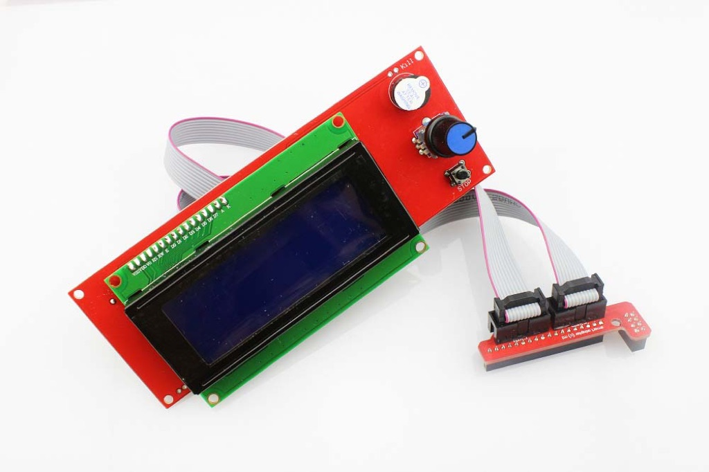 2004 Smart LCD Controller With Adapter For RepRap Ramps 1.4 3D P