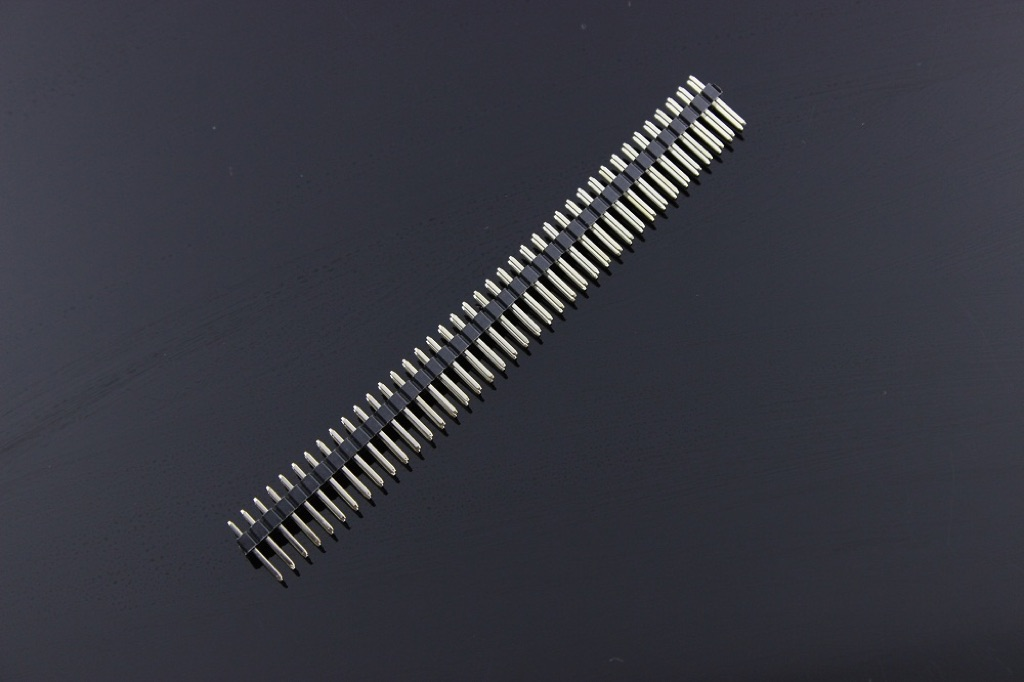 2X40Pin Male Header - 2.54mm (5Pcs Pack)