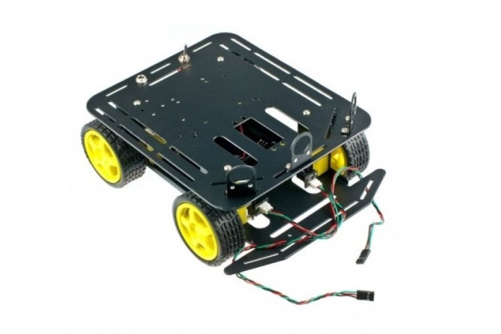 DF 4WD Arduino-Compatible Platform with Encoders