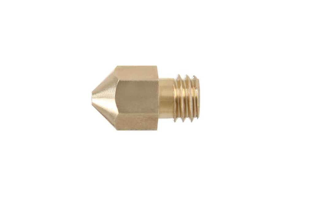 Brass M6 nozzle for MK8 Extruder