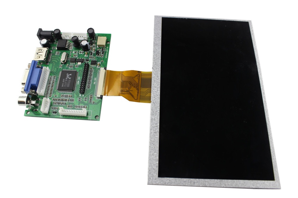7 Inch 800x480 TFT Display for Raspberry Pi B+ Pcduino Banana Pi