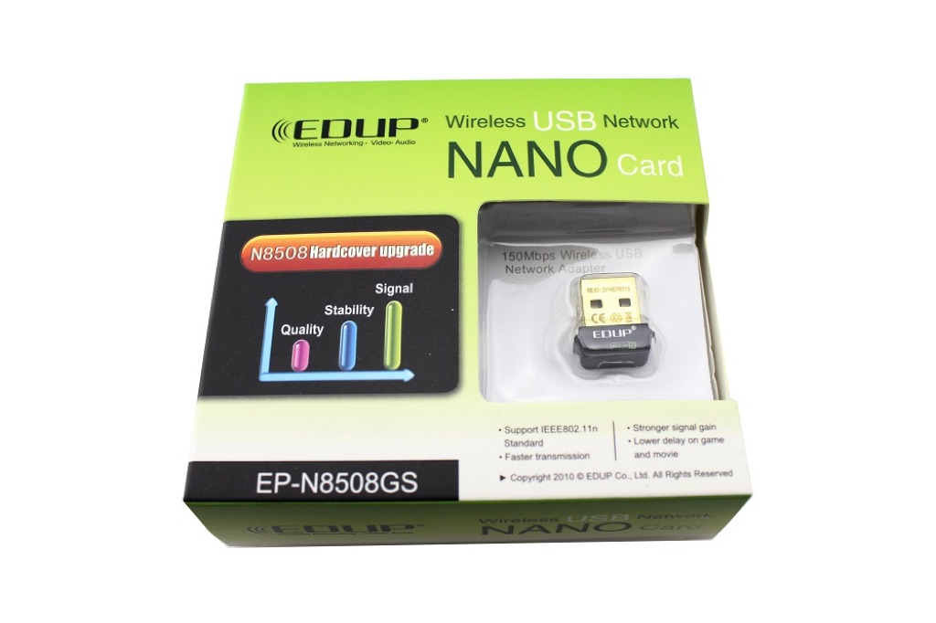EDUP EP-N8508GS 802.11b/g/n 150M WIFI Module for Raspberry Pi B+