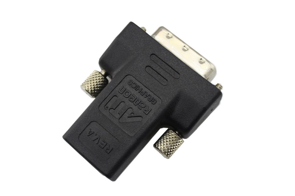 DVI-D 24+1 Pin Male to HDMI Female Converter