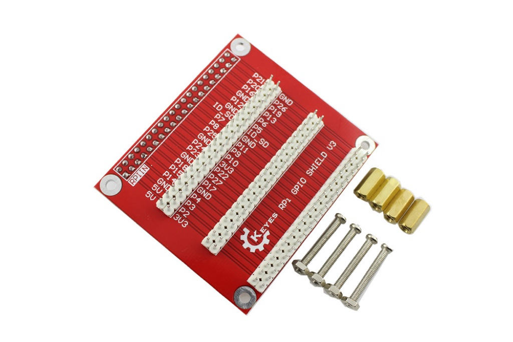 GPIO Expansion Board V3 With Screws For Raspberry Pi B+