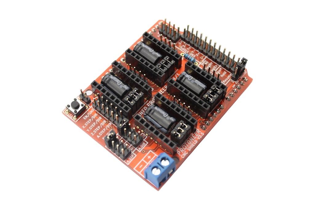 CNC Shield V3.5 for Arduino (GRBL v0.9 compatible with PWM Spind