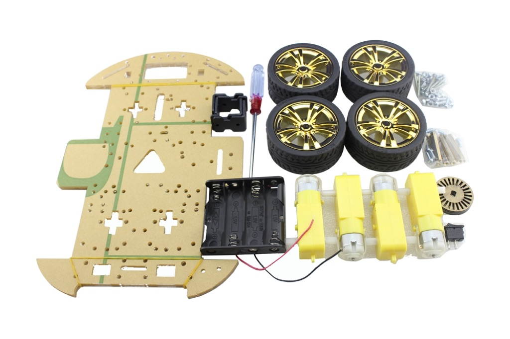 4WD Mobile Platform for Arduino Smart Robot Car