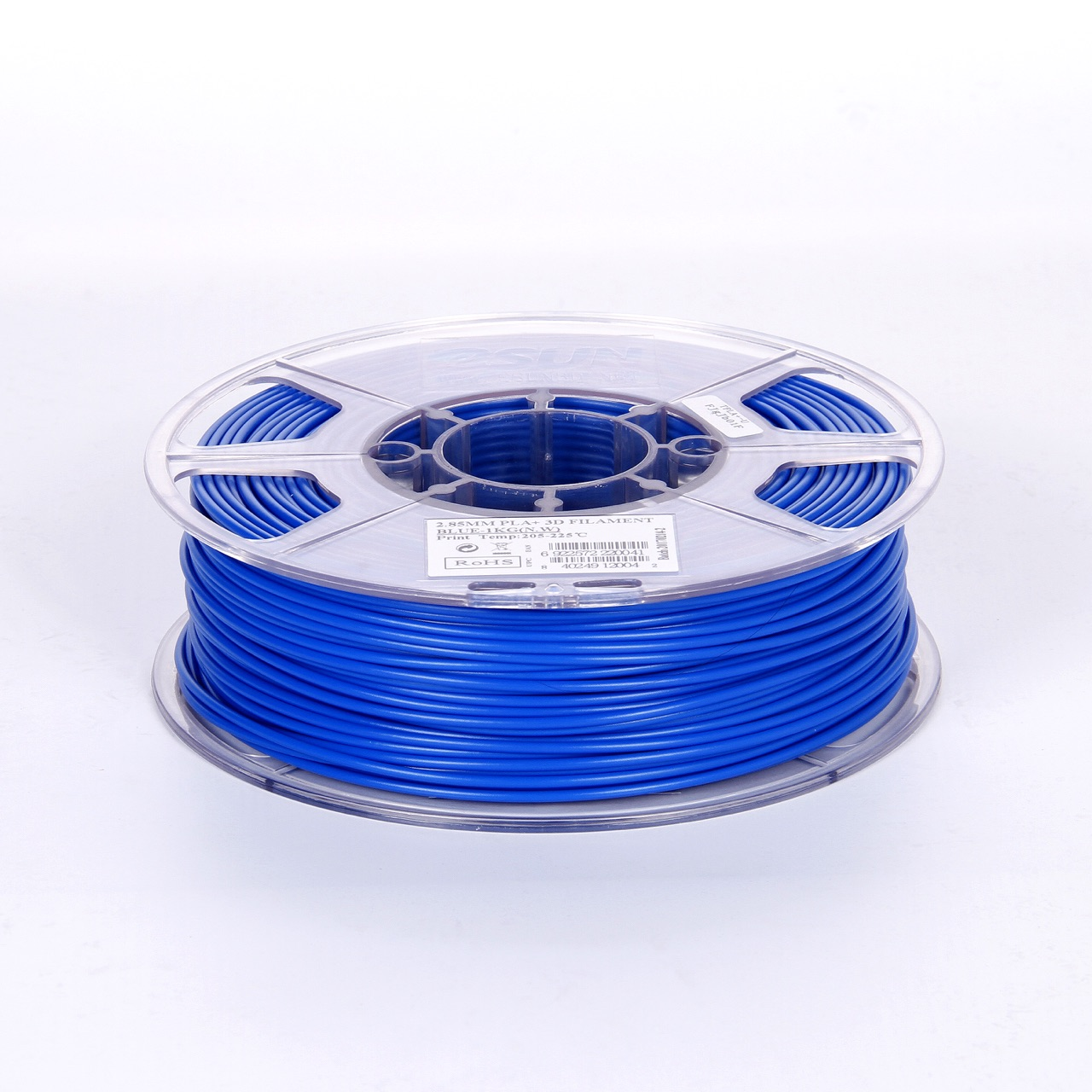 PLA filament, 2.85mm (3.0mm Compatible), Blue, 1kg/spool - MK-PLA300BE