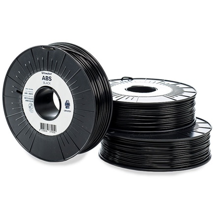 Ultimaker ABS 2.85mm, Black 750g spool