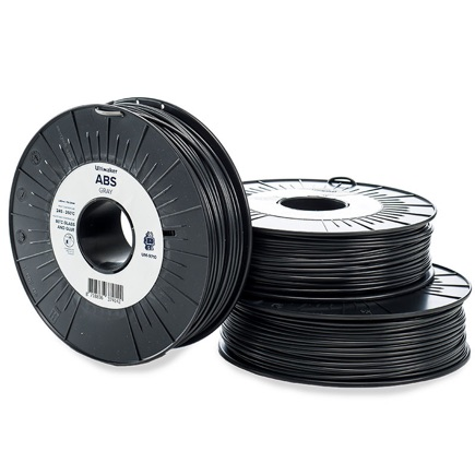 Ultimaker ABS 2.85mm, Grey 750g spool
