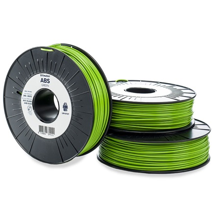 Ultimaker ABS 2.85mm, Green 750g spool