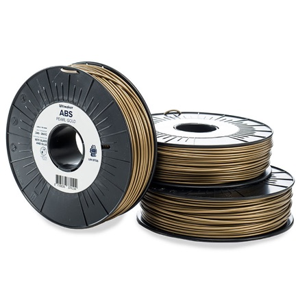 Ultimaker ABS 2.85mm, Pearl Gold  750g spool