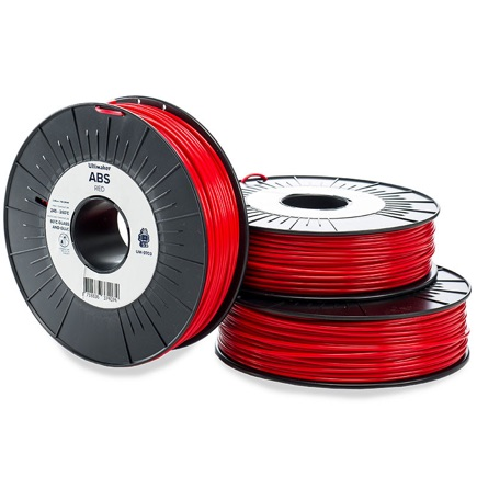 Ultimaker ABS 2.85mm, Red 750g spool