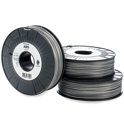 Ultimaker ABS 2.85mm, Silver  750g spool