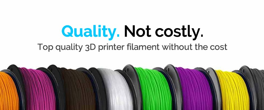 Fantastic quality 3d printer filament at an awesome price and direct to you