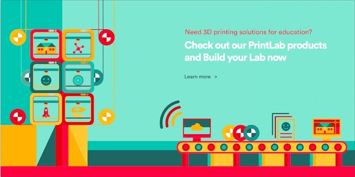 PrintLab - Painless 3D Printing and Activities for Classrooms