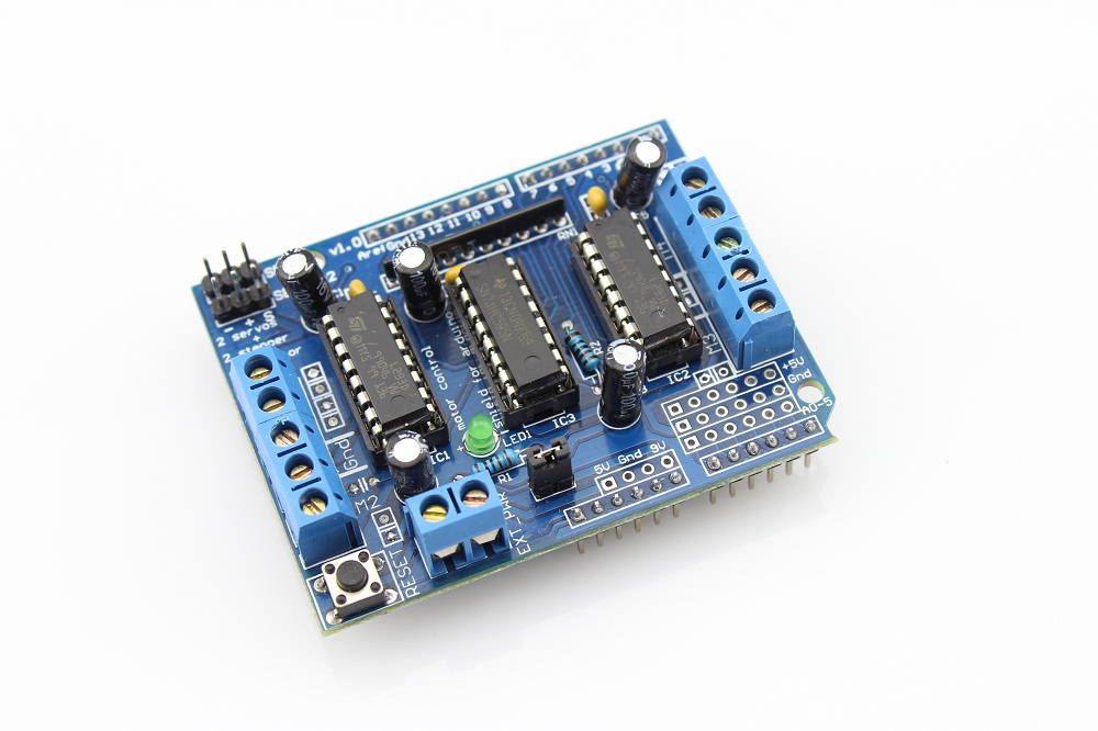 Four - Channels Motor Shield For Arduino