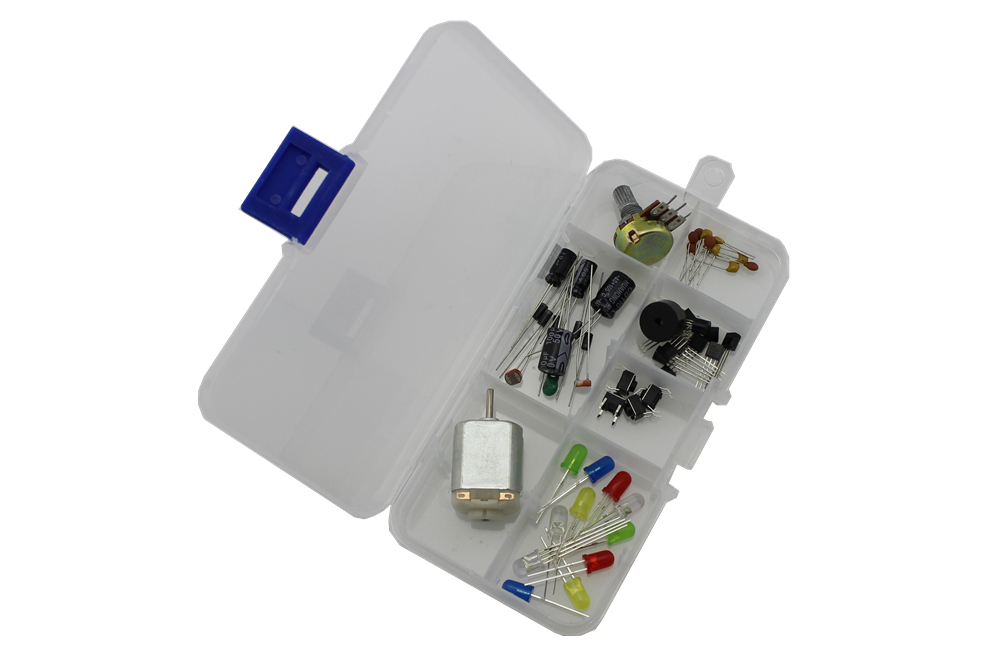 Common Component Kit for Arduino with Case E1