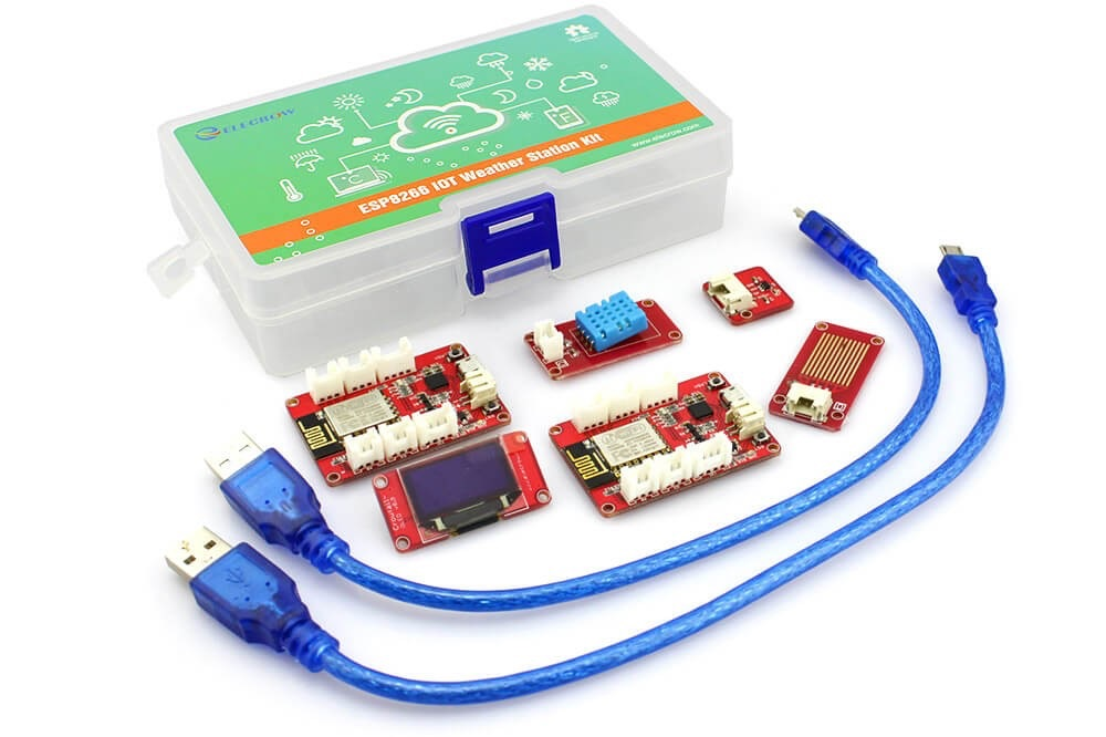 ESP8266 IOT Weather Station Kit