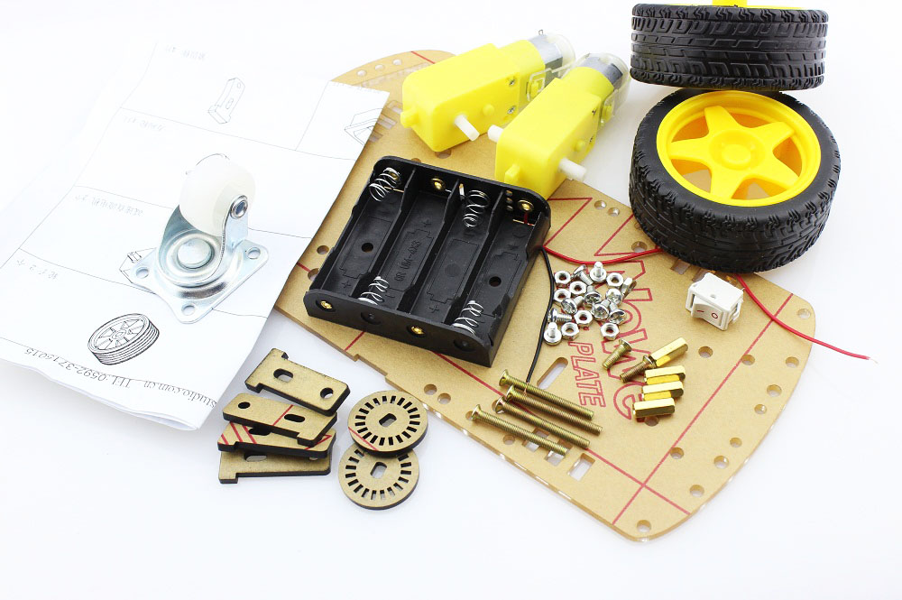 2WD Mobile platform Kit