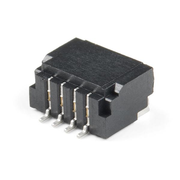 Qwiic JST Connector - SMD 4-pin (Horizontal)