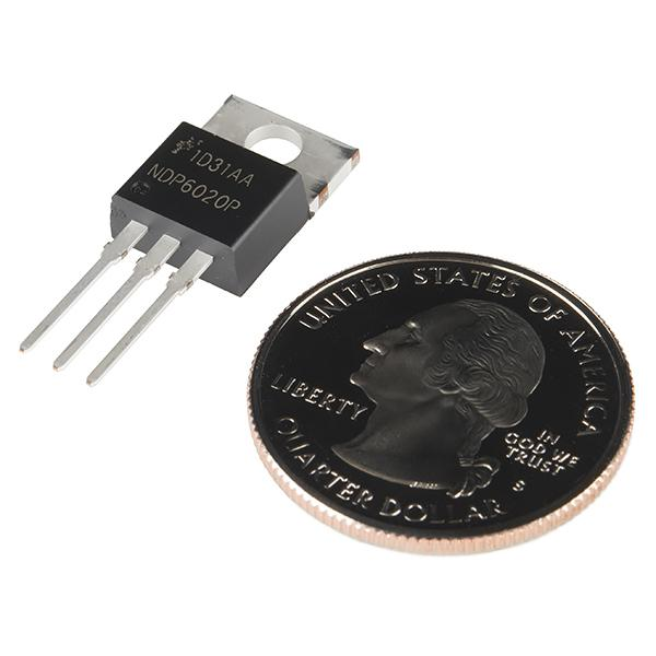 P-Channel MOSFET 20V 24A - low Vgs(th) - COM-12901
