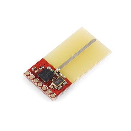 Transceiver nRF2401A Module Trace Antenna