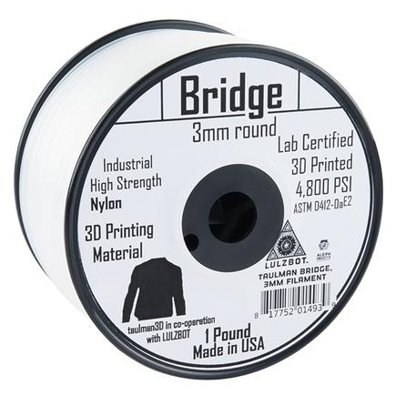 Bridge Filament 3mm - 0.45kg (Clear)