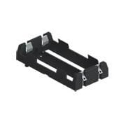 Battery Holder - 2x18650 (board mount)