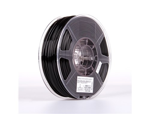 PETG filament, 2.85mm (3.0mm Compatible), Solid Black, 1kg/spool