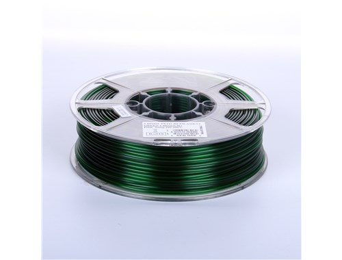 PETG filament, 2.85mm (3.0mm Compatible), Solid Green, 1kg/spool