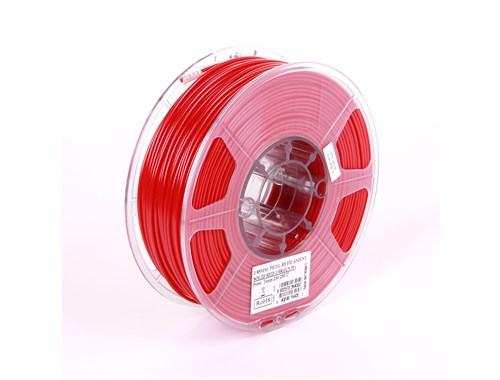 PETG filament, 2.85mm (3.0mm Compatible), Solid Red, 1kg/spool