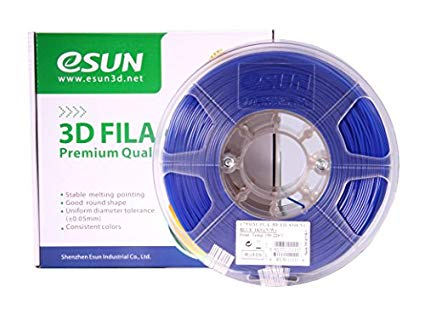 PLA filament, 1.75mm, Blue, 1kg/spool
