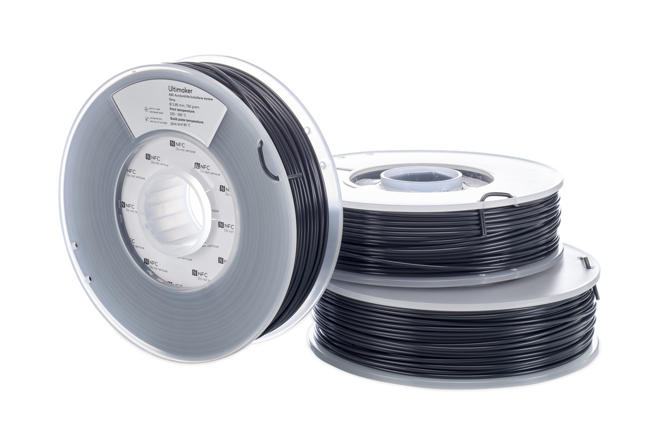 Ultimaker ABS Gray 750g Spool