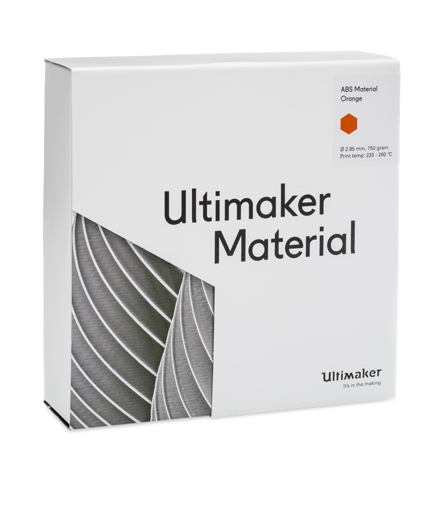 Ultimaker ABS Orange 750g Spool - UM-1628