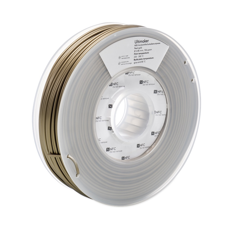 Ultimaker ABS Pearl Gold 750g Spool - UM-1626
