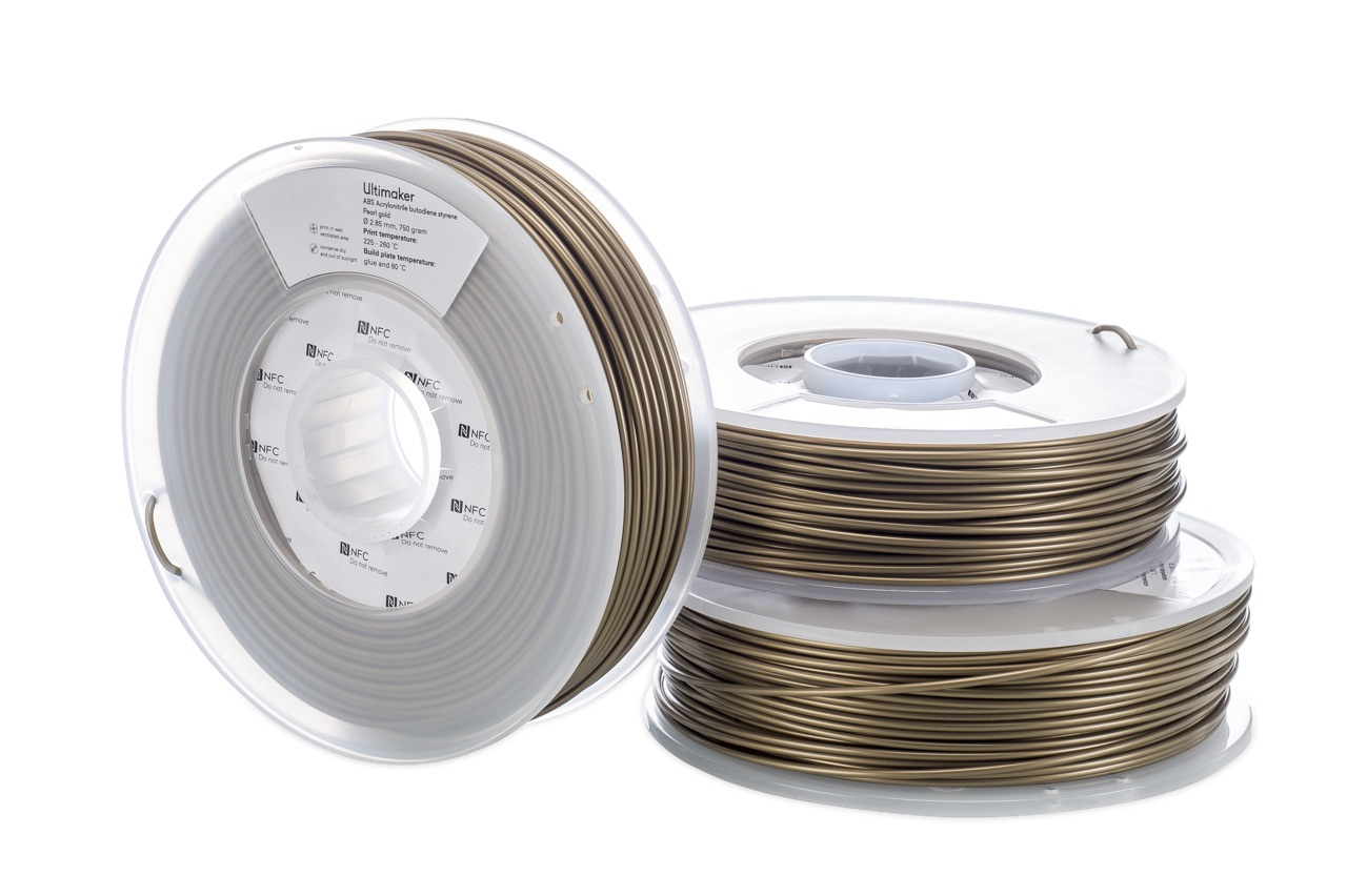 Ultimaker ABS Pearl Gold 750g Spool