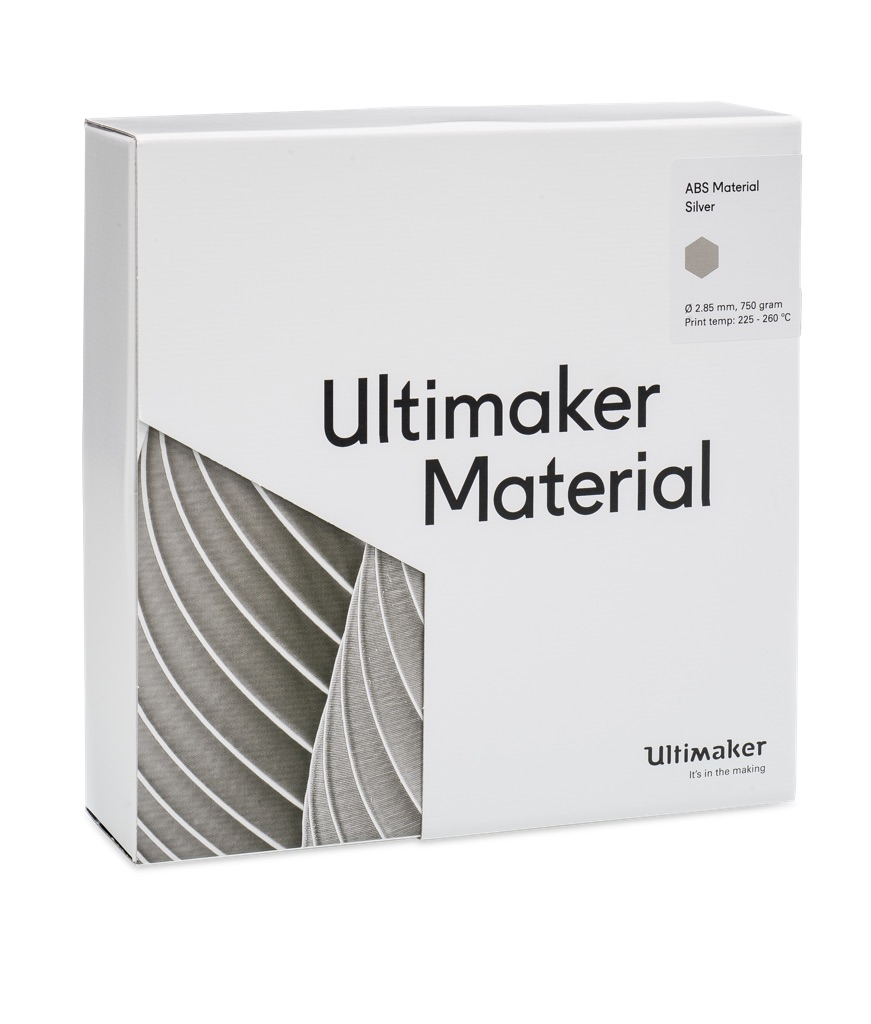 Ultimaker ABS Silver 750g Spool - UM-1625